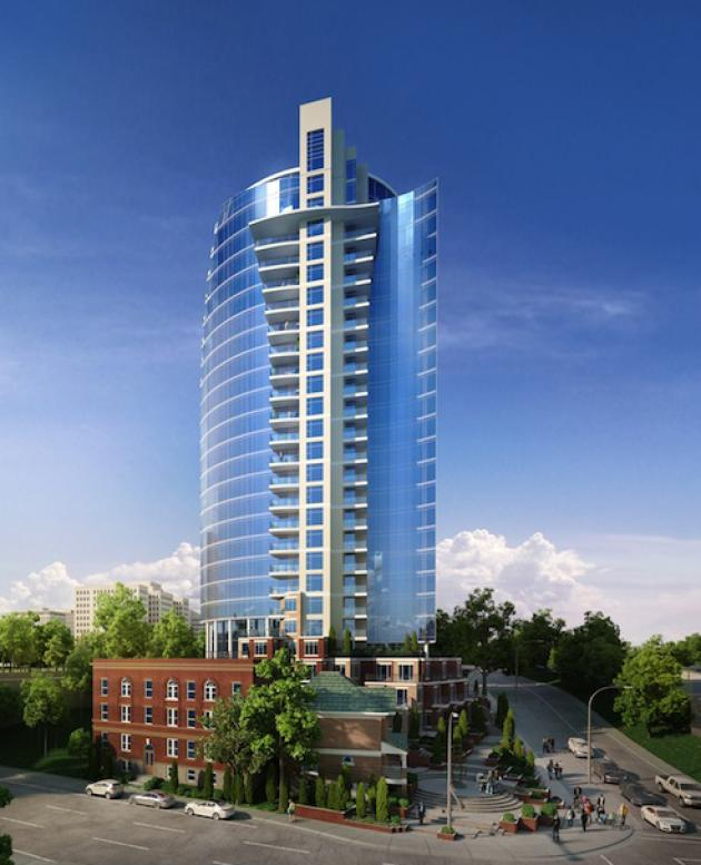 Symphony Tower Itc Construction Group